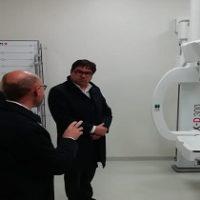 Un nuovo macchinario per la radiologia ad Amatrice