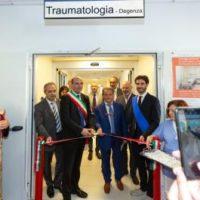 Inaugurato il nuovo Reparto di Ortopedia dell'Arcispedale Santa Maria Nuova di Reggio Emilia