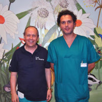 Neonato con organi addominali nel torace: delicato intervento alle Scotte di Siena