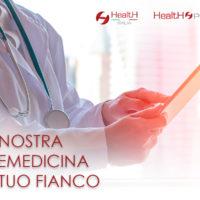 Health Italia organizza nei propri sistemi di telemedicina un canale dedicato per le visite mediche a distanza