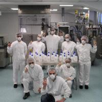 COVID-19: Menarini prosegue con nuove donazioni e raggiunge la cifra record di 100 tonnellate di gel disinfettante