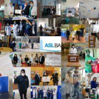 Strumenti salva-vita, fondi e mascherine in 43 diverse donazioni a sostegno della ASLBari