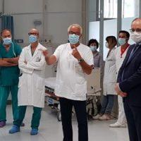 Inaugurata la nuova area maxi emergenza del Pronto Soccorso dell'Ospedale di Asti