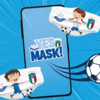 Yes Mask: la campagna Instagram anti-Covid di Figc e Bambino Gesù