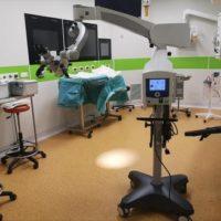 Asl Viterbo: entrato in funzione il nuovo microscopio operatorio in dotazione all'Otorinolaringoiatria di Belcolle