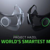 CES 2021: Razer svela i concept design di una mascherina intelligente