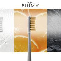 Piuma Care: brevettati i primi spazzolini con setole alla vitamina C