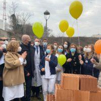 Posata la prima pietra del Centro oncologico di Parma