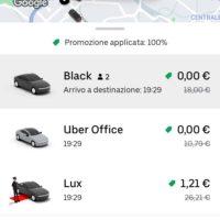 Uber: 20.000 corse gratuite in Italia per la campagna vaccinazione COVID19