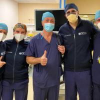 Tumore al fegato: al Miulli il primo caso operato per via robotica con paziente sveglio