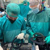 Eseguito all'Ospedale di Perugia il primo intervento in Italia di chirurgia ortopedica con strumentario di ultima generazione