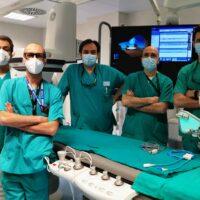 Al Maggiore di Parma ultrasuoni per sbriciolare le calcificazioni nelle coronarie
