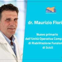 ASP Ragusa:  Maurizio Floridia è il nuovo primario del reparto di Recupero e Riabilitazione Funzionale di Scicli