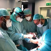 Chirurgia ortopedica con nuova protesi e realtà aumentata all'Ospedale di Cittiglio