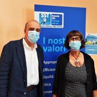 Paola Scatolini nuova direttrice dell'UOC Igiene e Salute nei luoghi di lavoro della provincia di Arezzo, Valdichiana senese e Amiata della USL Toscana Sud Est