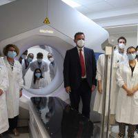 Inaugurato il terzo acceleratore lineare della Radioterapia dell'Ospedale Maggiore di Parma