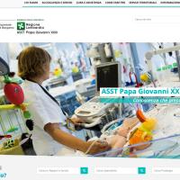Online il nuovo sito web dell'ASST Papa Giovanni XXIII di Bergamo
