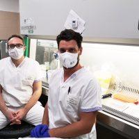 Un prelievo di sangue per misurare l'efficacia dei trattamenti riabilitativi