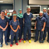 All'Urologia di Savigliano un intervento laparoscopico con fluorescenza su massa tumorale surrenalica